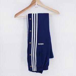 Adidas Vintage Blue Track Tear Away Snap pants
